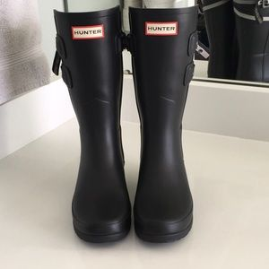 Hunter original refined short rain boot.